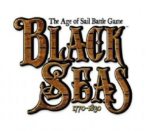 logo for Black Seas - demospil